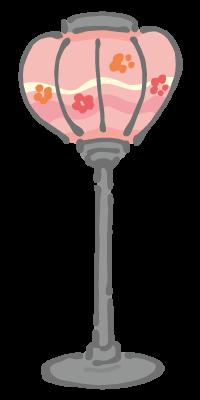ひな祭りのぼんぼり1