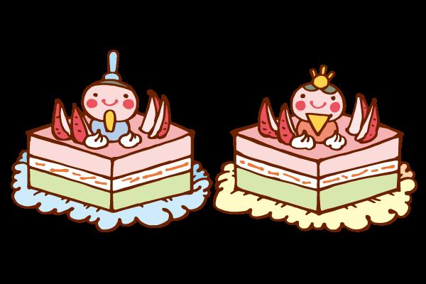 ひな祭りケーキ(セット)