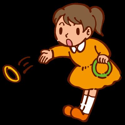 輪投げ2の無料イラスト ... : 子供用品 プレゼント : 子供