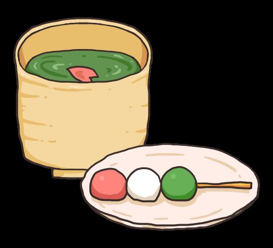 お茶とお団子