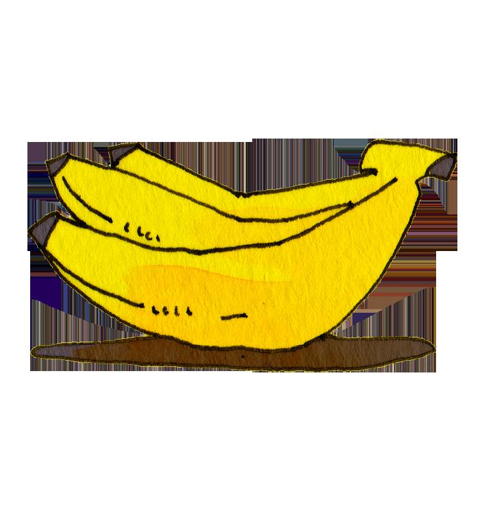 バナナ の無料イラスト : 節分 お面 : すべての講義