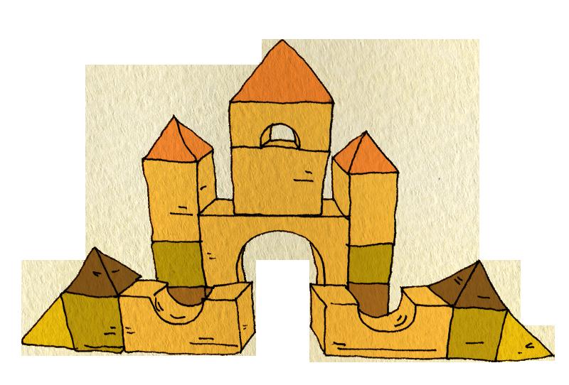 つみきのお城