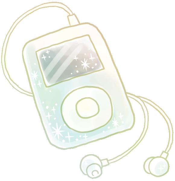 携帯音楽プレーヤー(ipod)