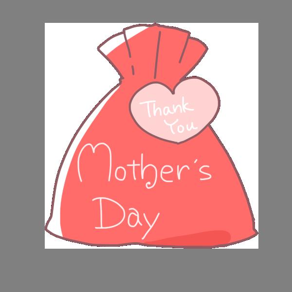 母の日のプレゼントのイラスト