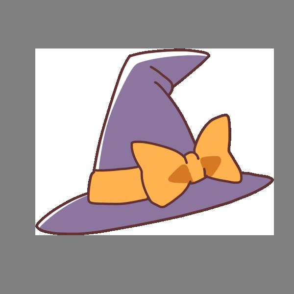 魔女の帽子のイラスト