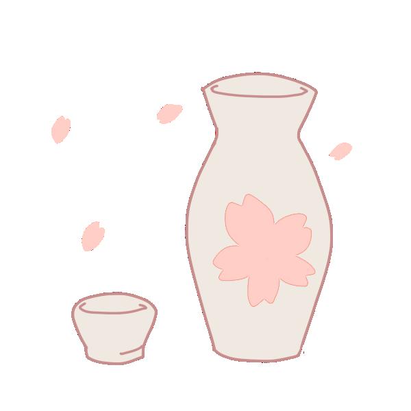 お酒のイラスト