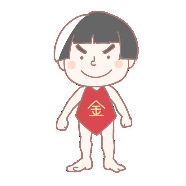 金太郎のイラスト