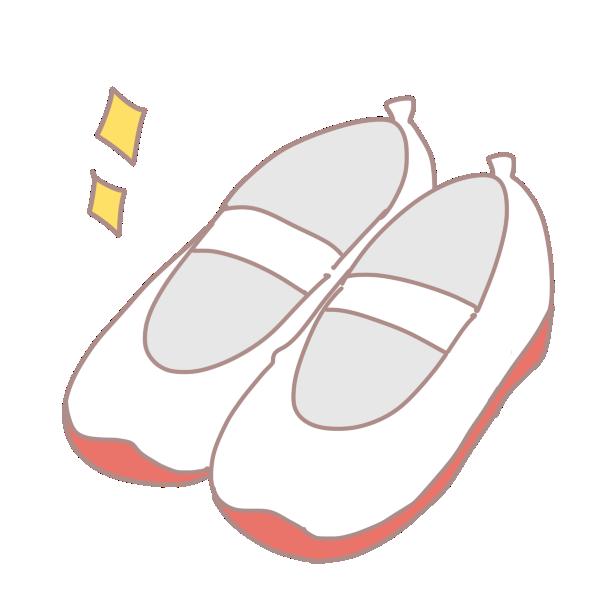 新しい上靴のイラスト