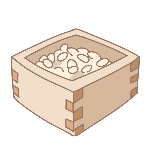 豆のイラスト