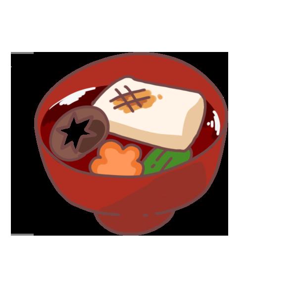 お雑煮のイラスト