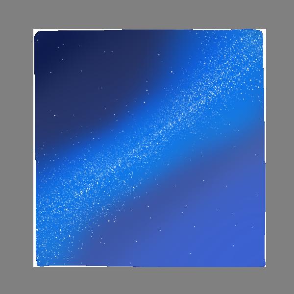 天の川のイラスト