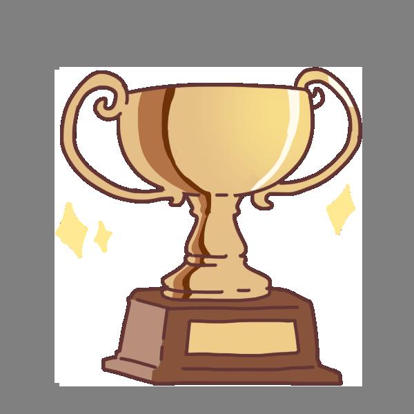 優勝杯のイラスト