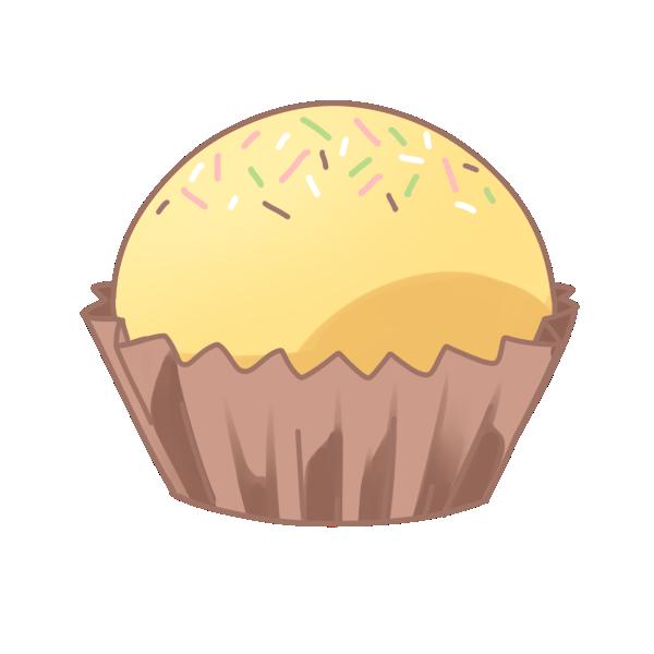 カップケーキのイラスト