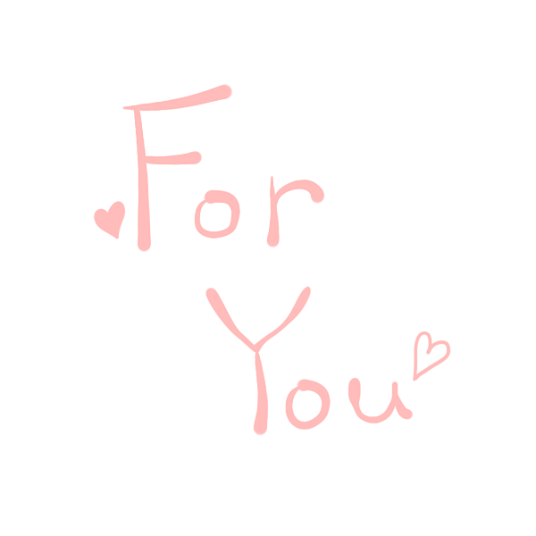 「ForYou」文字のイラスト