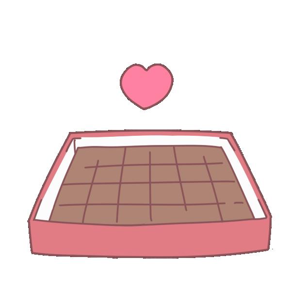 手作り生チョコのイラスト