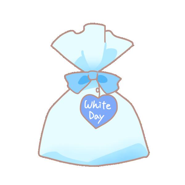 袋のプレゼントのイラスト