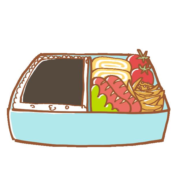のり弁のイラスト