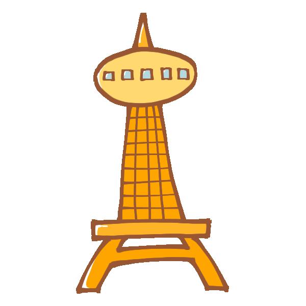 タワーのイラスト