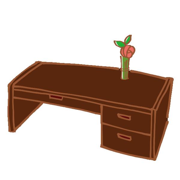 文机のイラスト