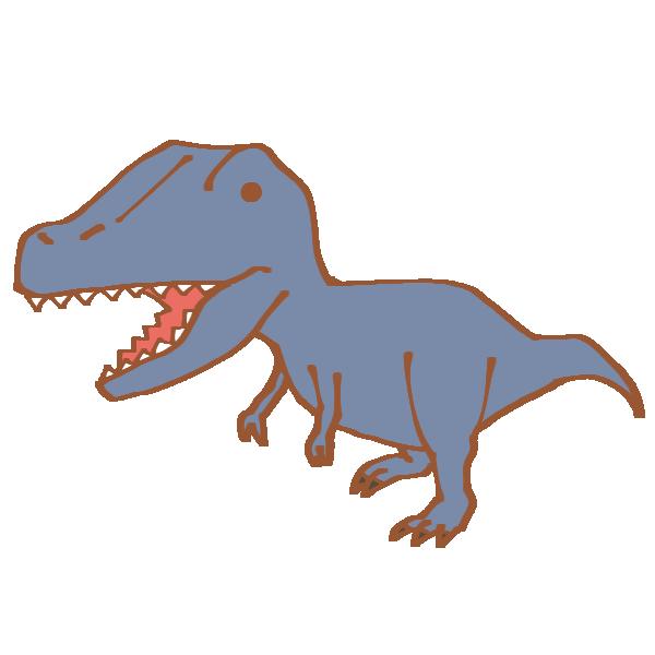 ティラノサウルスのイラスト