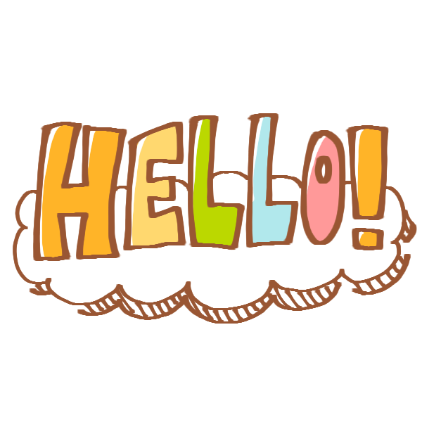 HELLOのイラスト