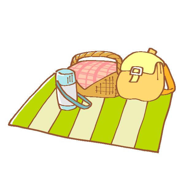 ピクニックの準備のイラスト