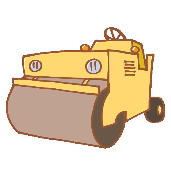 ロードローダーのイラスト