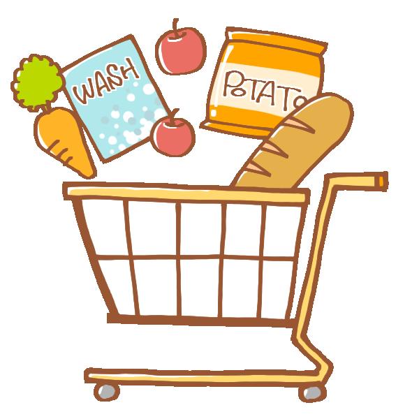 「買い物イラスト」の画像検索結果