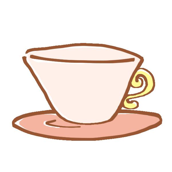 ティーカップのイラスト