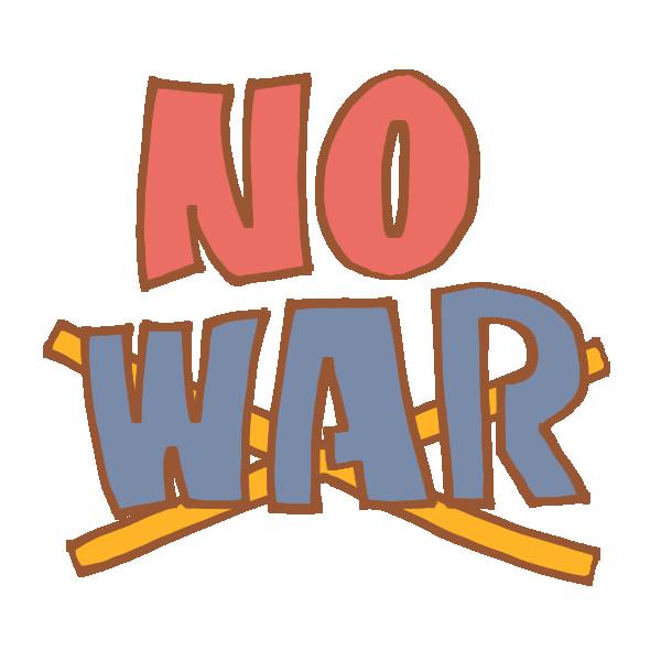 NOWARの文字のイラスト
