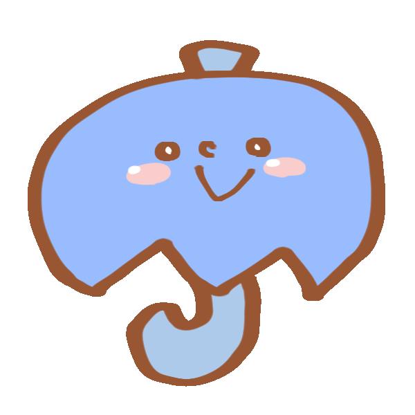 傘のマークのイラスト