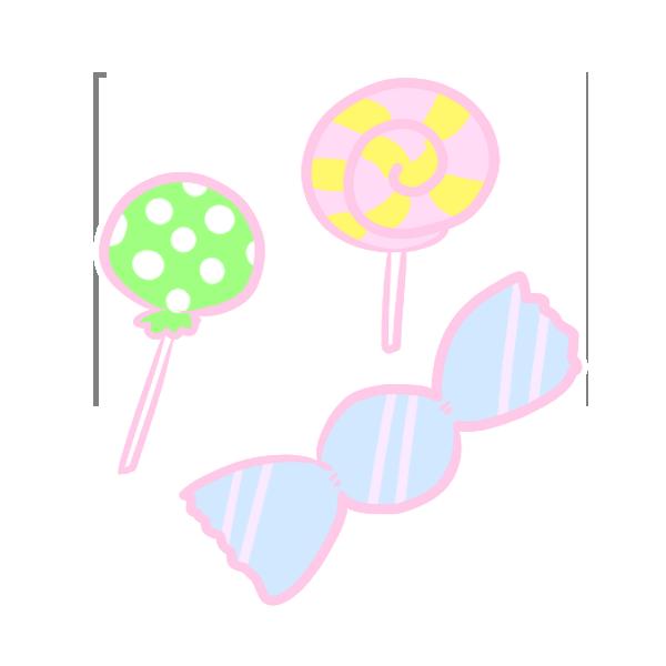 キャンディーのイラスト