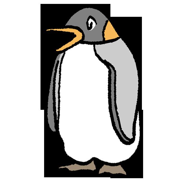 ペンギン2のイラスト