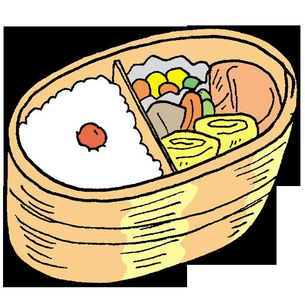お弁当1のイラスト
