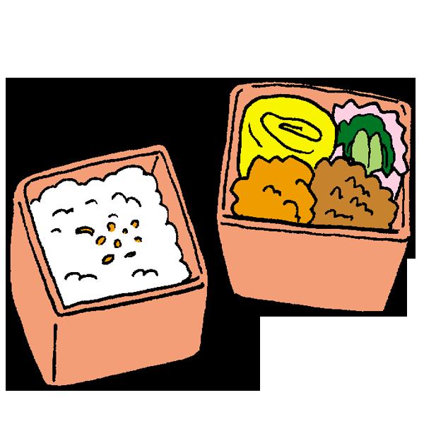 お弁当3のイラスト