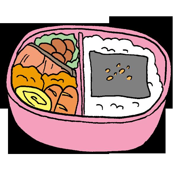 お弁当4のイラスト