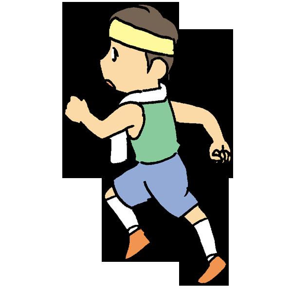 ジョギングのイラスト