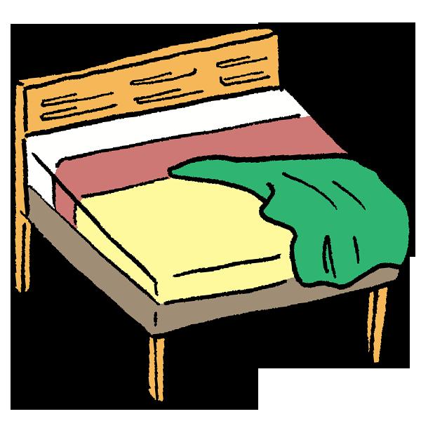 ベッド1のイラスト