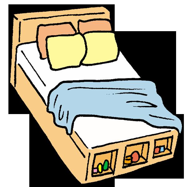 ベッド3のイラスト