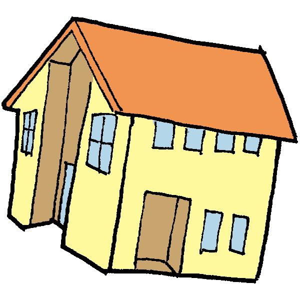 住宅1のイラスト