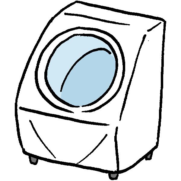 洗濯乾燥機のイラスト