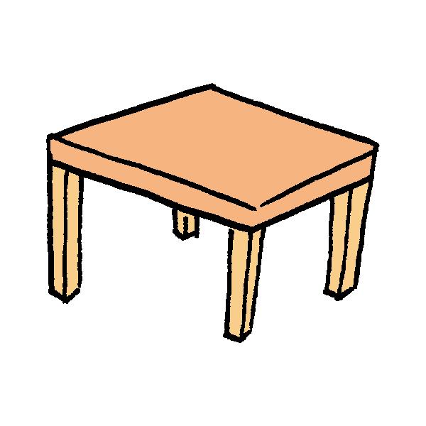 テーブルのイラスト