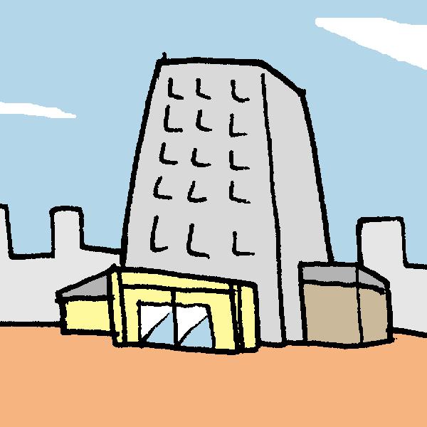 建物のイラスト