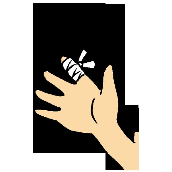 眼帯のイラスト