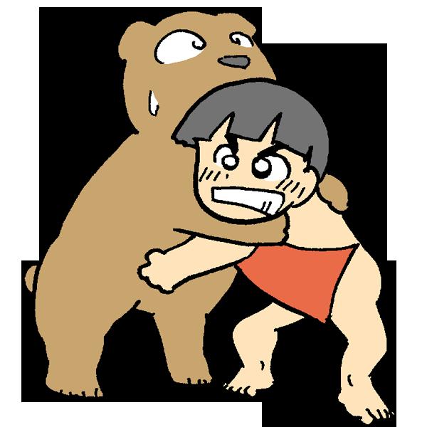 相撲のイラスト