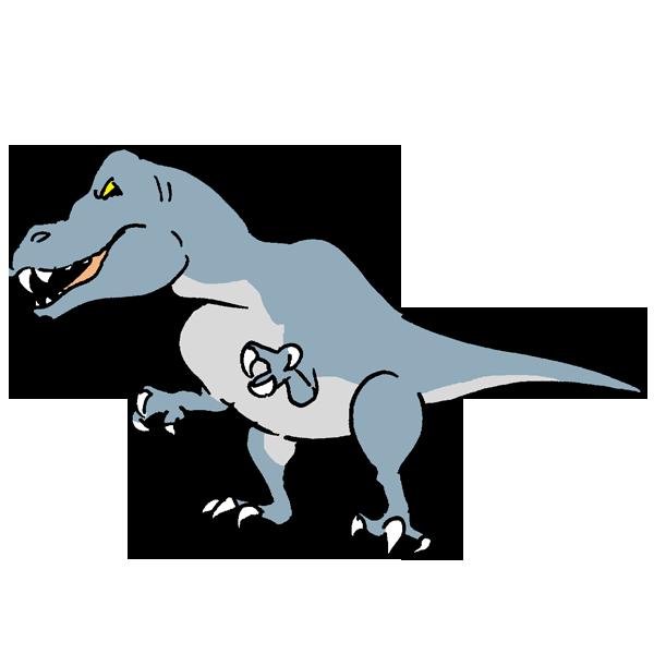 恐竜6のイラスト
