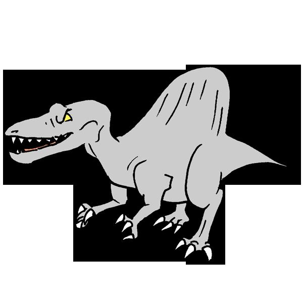 恐竜9のイラスト