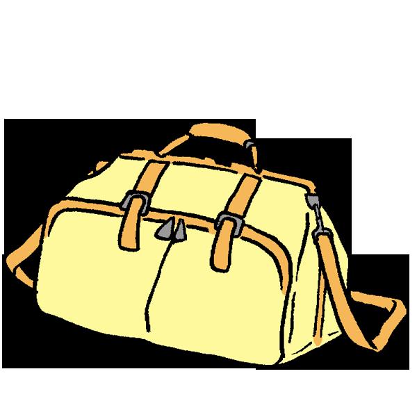 鞄のイラスト