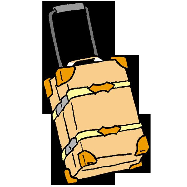 旅行ケース2のイラスト