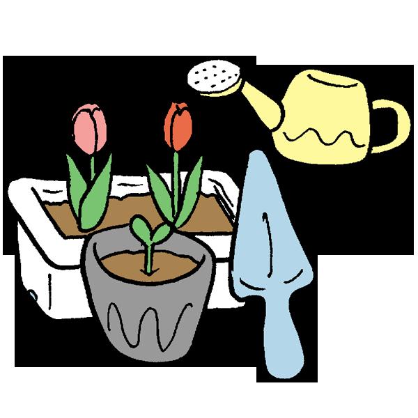 園芸のイラスト